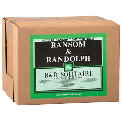 ransom and randolph solitaire - r&r solitaire - stone in place investment compound - stone in place casting compound - investment compound - casting investment - jewelry investment - plaster of paris