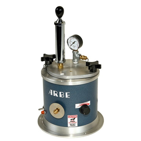 arbe wax injector with pump - wax injector with pump - jewelry mold wax injector with pump - jewellery mold wax injector with pump