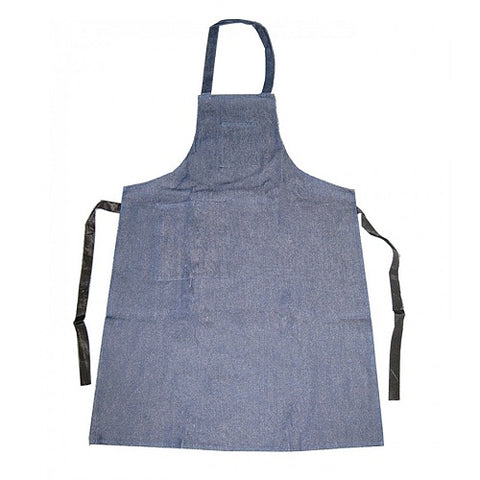 blue denim apron - polishing apron