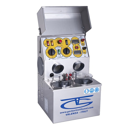 garbarino and titonel plating machine - garbarino and titonel electroplating machine - garbarino and titonel plating system - 2 beaker garbarino and titonel plating system - jewelry electroplating machine - jewellery electroplating machine