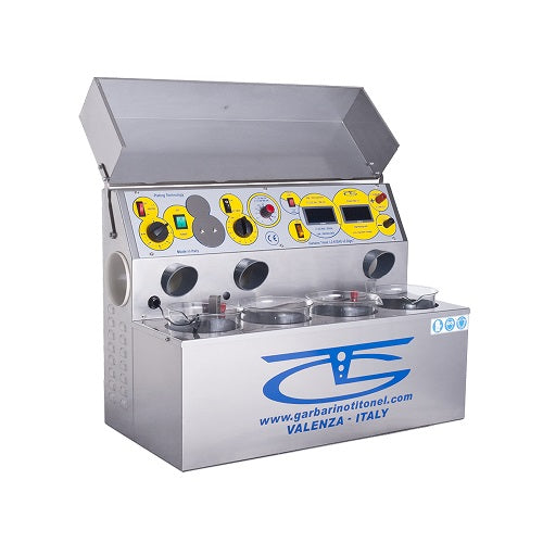 garbarino and titonel plating machine - garbarino and titonel electroplating machine - garbarino and titonel plating system - 4 beaker garbarino and titonel plating system - jewelry electroplating machine - jewellery electroplating machine