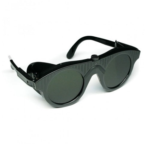 welding glasses - dark shaded safety glasses - saftey glasses