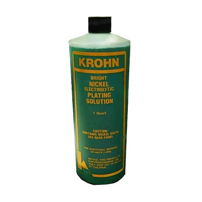 krohn nickel plating solution - krohn nickel electroplating solution - nickel plating solution - nickel electroplating solution