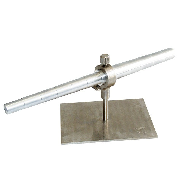 stepped wax mandrel - stepped wax mandrel with rotating stand - wax mandrel - wax mandrel with rotating stand