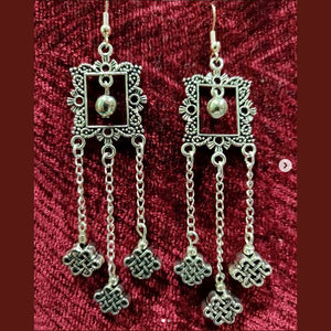 Ornate Frame Dangling Earrings - SketchedUp20