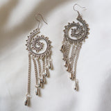 Spiral Dangle Earrings - SketchedUp20