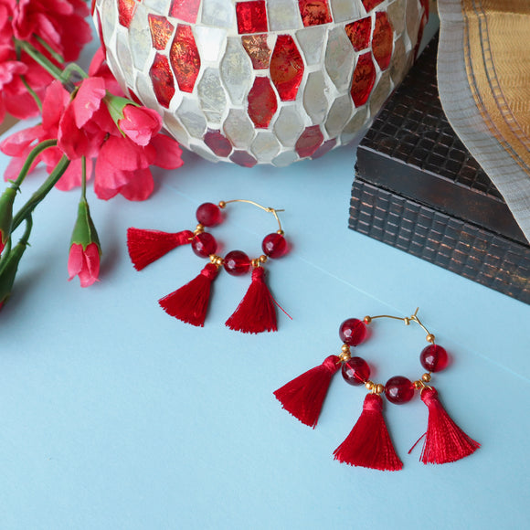 Poppy Hoop Earrings - SketchedUp20
