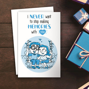 Memories With You Greeting Card - SketchedUp20