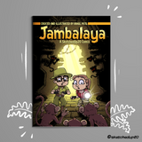 Jambalaya Comic Book - DIGITAL PDF - SketchedUp20