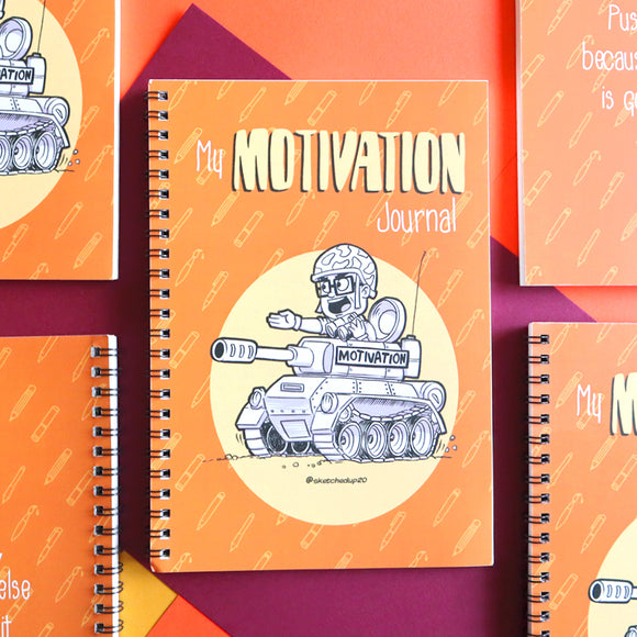 My Motivation Journal Notebook - SketchedUp20