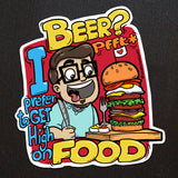 High On Food Sticker - SketchedUp20