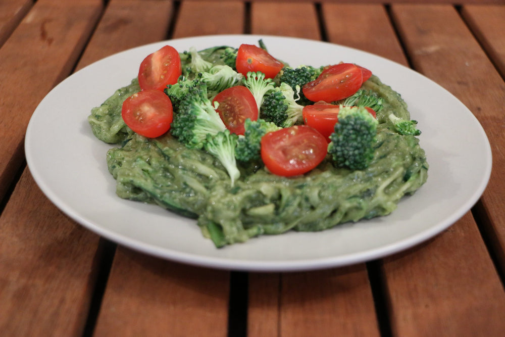 Miracle Tree's Moringa-Pesto Zucchini Noodles | Miracle Tree