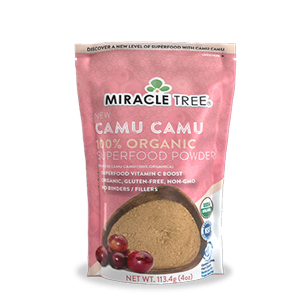 Miracle Tree - 100% Organic Camu Camu Superfood Powder (4 Oz.)