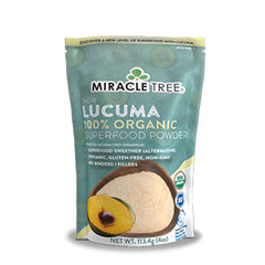 Miracle Tree - 100% Organic Lucuma Superfood Powder (4 Oz.)