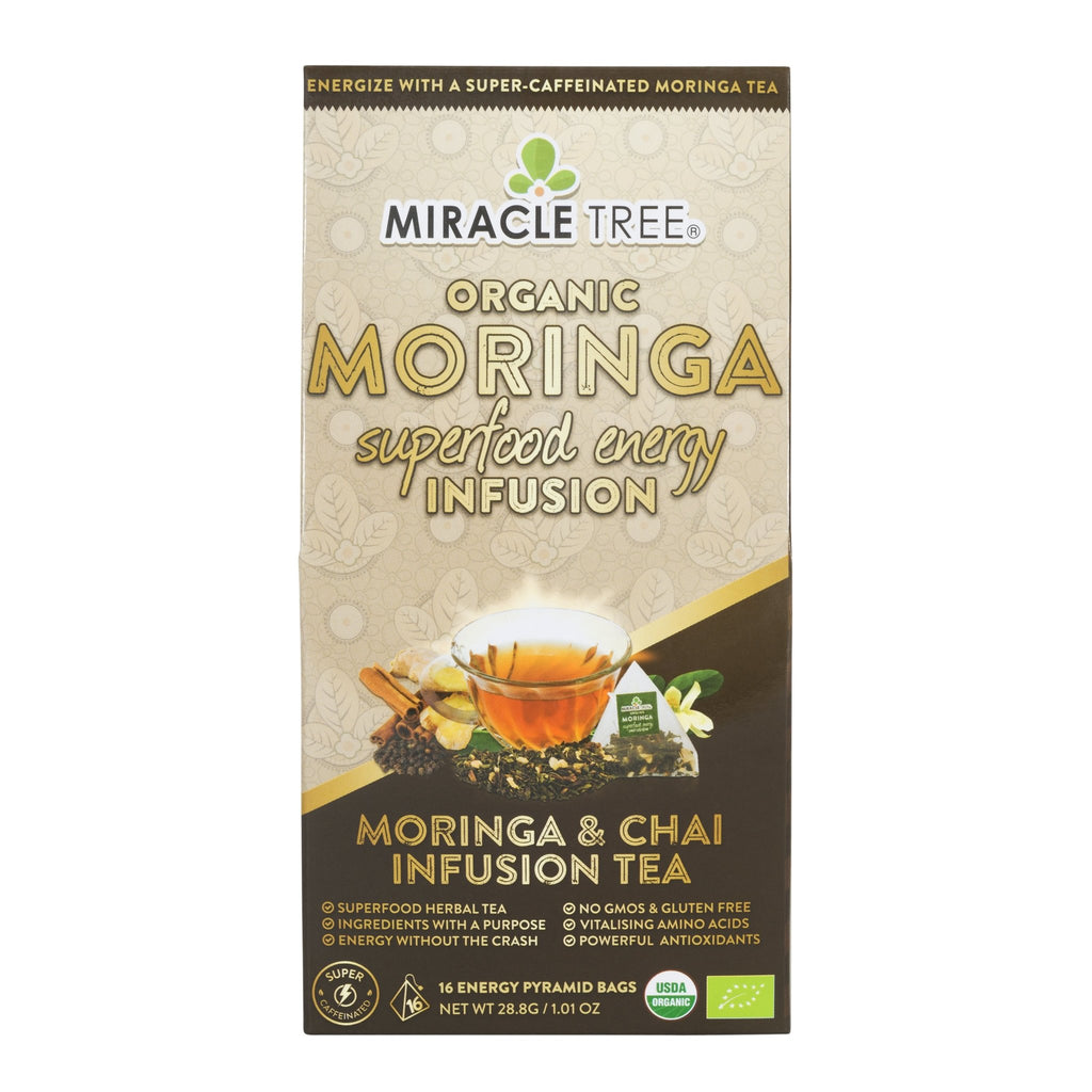 Organic Energy Tea, Chai - Miracle Tree