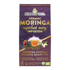 Organic Energy Tea, Grape - Miracle Tree