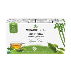 Organic Moringa Tea, Green Tea - Miracle Tree