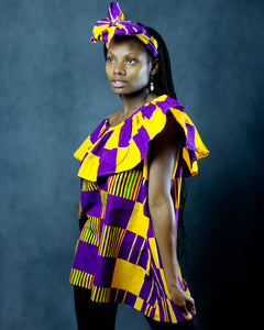 The Mamba Dress with Headwrap