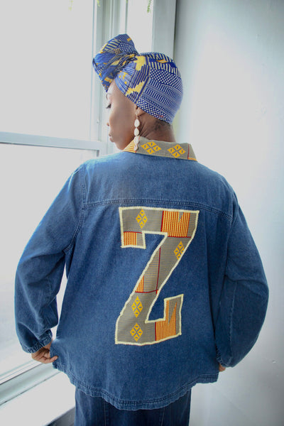 Z For Zarkpas Custom Denim Jacket