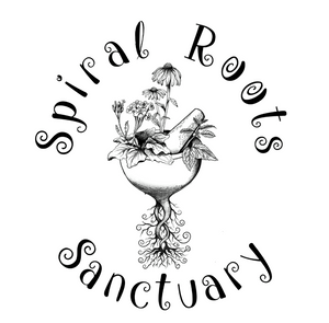 Spiral Roots Sanctuary Logo
