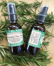 Load image into Gallery viewer, Rosemary Tea Tree Hand & Yoga Mat Spray + Body Spray for Yoga Teachers with Essential Oils, Cleansing & Refreshing