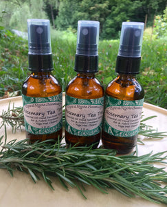 Rosemary Tea Tree Hand & Yoga Mat Spray + Body Spray for Yoga Teachers with Essential Oils, Cleansing & Refreshing