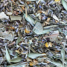 Load image into Gallery viewer, Rest Easy SLEEPY TIME Organic Herbal Tea Bags for Stress Relief, Relaxation + Anxiety with Lavender, Chamomile, Passion Flower & Oat Tops