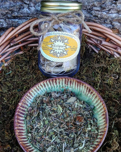 Eclipse Tea ~ Stress Relief Organic Herbal Tea Bags for Relaxation + Nervous System Support with Calendula, Passion Flower, Ashwagandha and Hawthorn