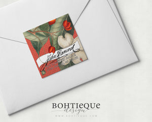 Dogwood Tree Signature Address Labels