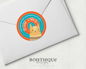 Beatrix the Cat Address Labels