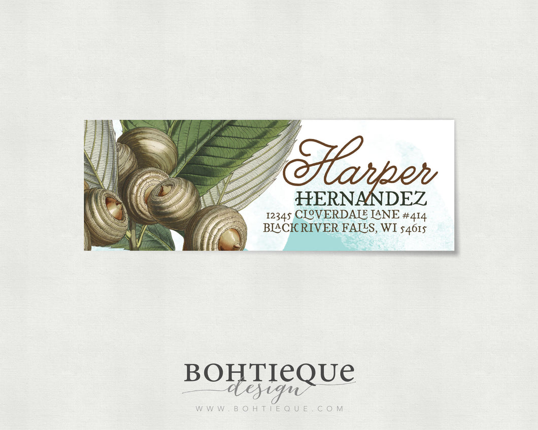Harper Return Address Labels