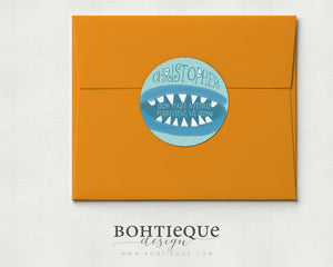 Monster Mouth Return Address Labels
