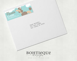 Poodle Address Labels