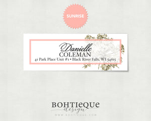All Hail Queen Anne Return Address Labels Rectangle