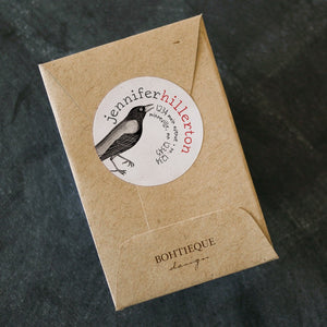Caw, Caw Crow Return Address Label
