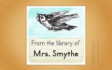 Load image into Gallery viewer, Book Owl Return Address Labels For Book Lover, Librarian