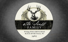 Load image into Gallery viewer, Vintage Deer Return Address Label