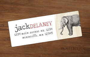 Elephant Presents Review Address Labels