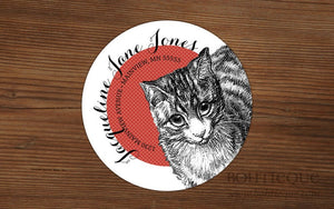 Return Address Labels: Cat Script