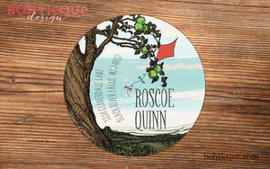 Under the Old Tree Return Address Label