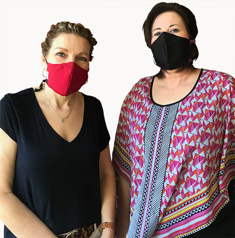 Antimicrobial COVID-19 Face Masks PPE
