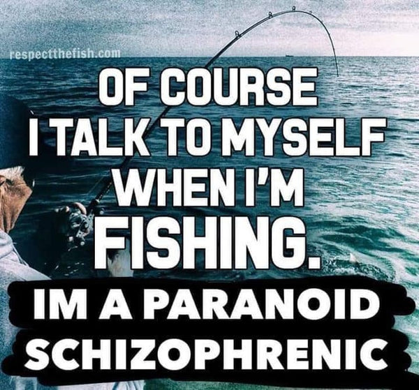 mental health fishing meme
