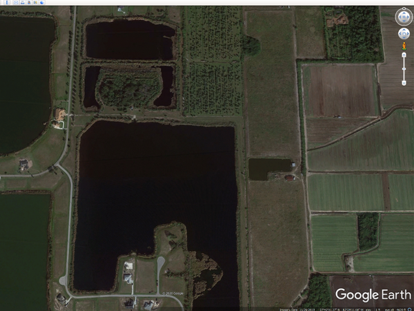 Google Earth Pond