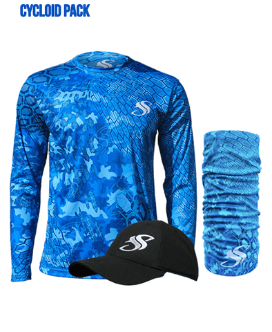 Image of Mens Camo Fishing Sun Shirt Gift Pack