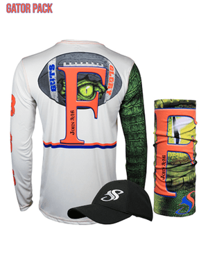 Gator Guts & Glory Performance Long Sleeve Gift Pack