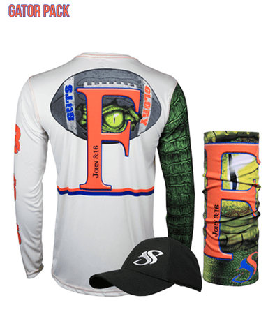 Image of Gator Guts & Glory Performance Long Sleeve Gift Pack