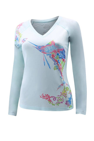 Image of Womens UPF Performance Sailfish Longsleeve