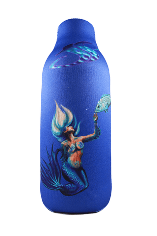 Majestic Mermaid Bottle Beer Koozie