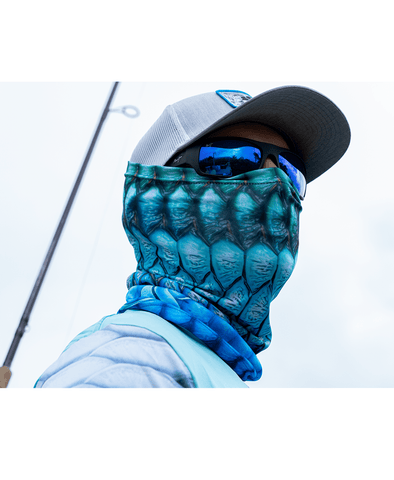 Tarpon Scales Neck Gaiter