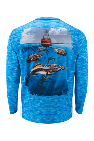 Cobia Triple Tail Performance Fishing Shirt